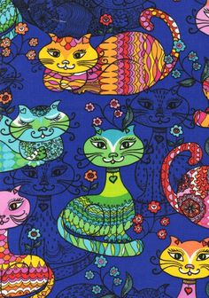 colorful cat veterinary scrubs Custom scrubs Pinterest