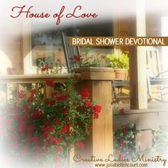 bridal shower devotional house of love by julia bettencourt bridalshower ladiesministry nice