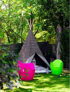 I Totally Want A Backyard Teepee. Gotta Work On Getting A Backyard First,  Though