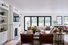Dream House Tour: Beautiful Spanish Revival Home in Los Angeles Spanish Revival Home, Spanish Style Homes, Spanish House, Boho Glam Home, Renaissance Espagnole, My Living Room, Living Spaces, Amber Interiors, Villa