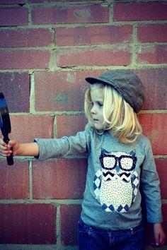 630b17693b14  geek  owl  applique fashion for kids Owl Dress