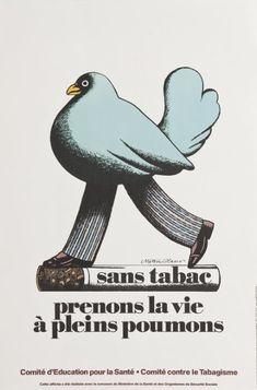 Milton Glaser - Sand Tabac poster, 1977
