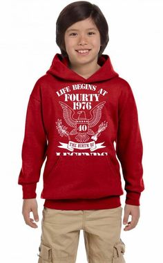 Life Begins At Fifty1976 The Birth Of Legends Youth Hoodie