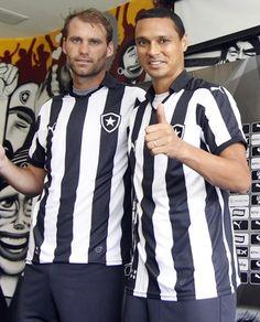 Joel Carli e Emerson Silva Botafogo (Foto: Vitor Silva / SSPress / Botafogo)