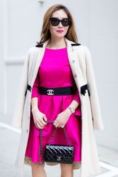 Outfit Ideas, Style Inspiration, Winter Fashion, Chanel Brooch, Chanel Mini Flap Bag