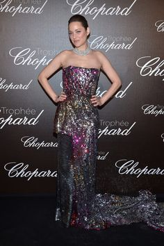 Marion Cottilard in Halpern - Trophée Chopard Ceremony