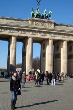 The symbol of Berlin - The Brandenburg Gate (2015)