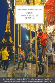 A long weekend in Paris with our toddler during wintertime: here is the complete itinerary plus all my resources for healthy food options, specialty coffee and family-friendly activities.