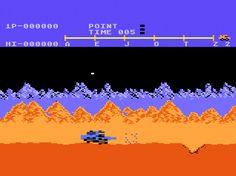 Atari Moon Patrol for Atari 5200 screenshot Classic Retro Gaming Video Game Review