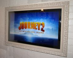 "37"" 3D LED Mirror Television, Frmae style No.04 from our website www.DesignerMirrorTV.com"