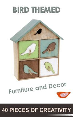 Bird Themed Furniture And Decor 40 Pieces Of Creativity