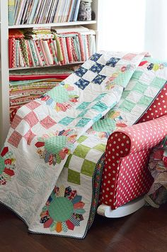 Field Day quilt by croskelley, via Flickr