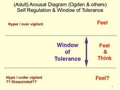 (Adult) Arousal Diagram (Ogden & others) Self Regulation & Window of Tolerance 20 Window of Tolerance Hyper / over vigila...