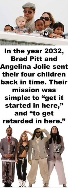 Brangelinas Kids - funny pictures - funny photos - funny images - funny pics - funny quotes - #lol #humor #funny