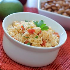 This is an excellent authentic Mexican rice recipe (not to be confused with Spanish rice) that I make as a side dish with all of my Mexican dishes. The key is cooking the rice properly and using good quality chicken broth or stock. Mexican Rice Recipes, Mexican Dishes, Vegetarian Recipes, Cooking Recipes, Carrot Recipes, Broccoli Recipes, Yummy Recipes, Recipies, Side Dish Recipes