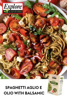 Friday night noodles! Try this savory dish for dinner tonight stacked with all the good stuff… edamame pasta, tomatoes, arugula, and feta! #vegetarian #proteinpacked #noodlenight Edamame Spaghetti, Edamame Pasta, Healthy Food, Healthy Recipes, Spaghetti Recipes, Dinner Dishes, Savoury Dishes, Arugula, Dinner Tonight