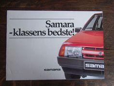 Lada Samara 2108 + 2109 Prospekt / Brochure / Depliant, DK  | eBay