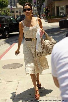 Free crochet patterns and video tutorials: Free crochet summer dress pattern