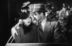 Garry Cooper and Jean Arthur in Mr. Deeds Goes to Town