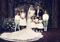 Official Photograph of Princess Madeline of Sweden's wedding to British businessman, Chris O'Neil, 8 June 2013