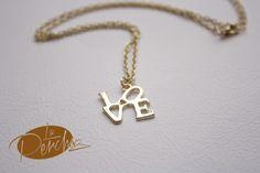 La Percha Collar Necklace Bisutería Jewelry LOVE Accesorios mujer moda fashion