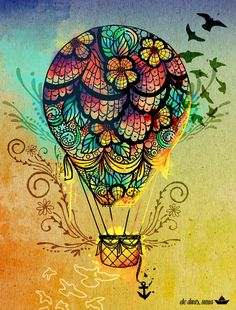 Ilustração balloOn - de duas, uma | Flickr - Photo Sharing!