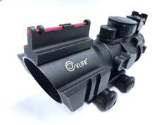 CVLIFE 4x32 Tactical Rifle Scope Red & Green & Blue Tri-illuminated Rapid Range  #CVLIFE