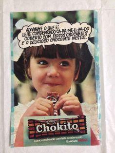 Anúncio Chokito 1978