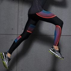 Buy Men's Sport Compression leggings Printing Running Tights Joggers Pants Fitness Men Gym Clothing Athletic Jogging Pants at Wish - Shopping Made Fun Sports Leggings, Printed Leggings, Workout Leggings, Women's Leggings, Yoga Trousers, Harem Pants, Bike Pants, Sport Fitness, Woman Fitness