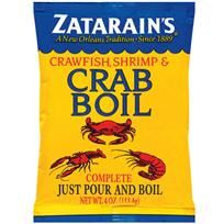 Zatarain's Complete Crawfish, Shrimp & Crab Boil is all the spice and seasoning you need to get boiling. Just add to the pot with your favorite seafood and vegetables for a good old-fashioned Louisiana boil.