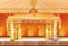 Wedding Mandap, Wedding Reception, Wedding Ideas, Stage Decorations, Wedding Decorations, Reception Stage Decor, Indian Wedding Stage, Traditional Wedding Decor, Coimbatore