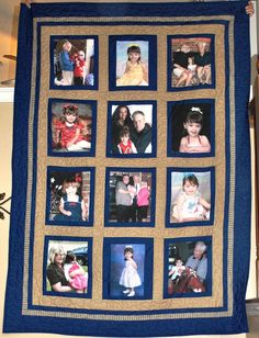 Custom Made Keepsake Picture Quilt by SewCoolbyTimi on Etsy, $395.00
