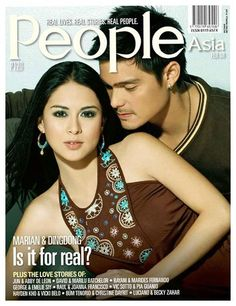 Dingdong Dantes and Marian Rivera - People Asia Magazine [Philippines] (February Marian Rivera, Filipina Actress, Celebs, Celebrities, Pinoy, Real People, Love Story, Actresses, Boys