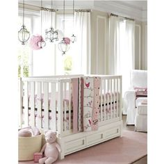 Pottery barn nursery  -  little Spring Roll will be happy here :-)
