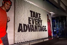 Niketown US Open Retail Environment by Hybrid Design , via Behance