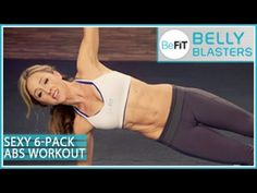 BeFiT Belly Blasters: Sexy 6-Pack Abs Workout- Nicola Harrington - YouTube
