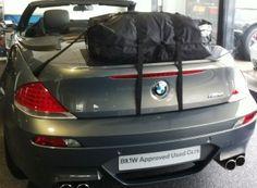 Die Alternative zu einem Gepäckträger für lhren BMW 6er Cabrio.Hinzufügen von Wasserdicht 50 Liter Gepäckraum