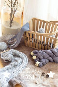 Herbstfreuden: Neue Wolle aus D�nemark