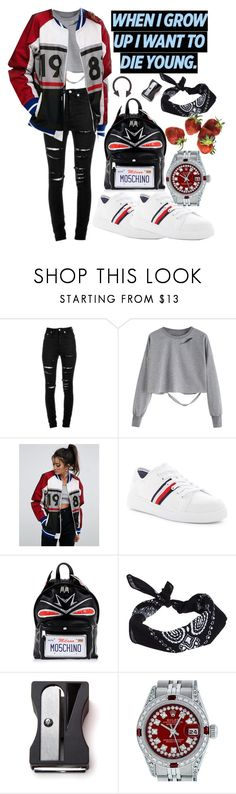 """love$ick"" by tasnim-ali ❤ liked on Polyvore featuring Yves Saint Laurent, ASOS, Tommy Hilfiger, Moschino, Monkey Business, Rolex, rolex and tommyhilfiger"