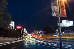 West Hollywood after dark