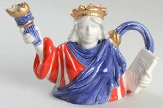 Replacements, Ltd. Search: fitz & floyd teapot; statue of liberty