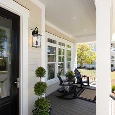 Painted Porch Floor Design Ideas, Pictures, Remodel, and Decor - page 5