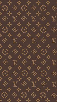 Louis Vuitton Print iPhone 5s Wallpaper.