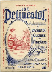 October 1897 Delineator Magazine Cover Page