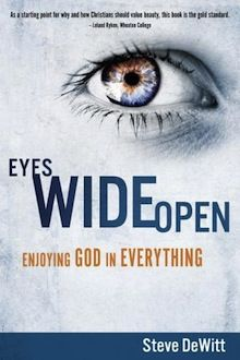 """Eyes Wide Open :: I really want to read this book!  ::  """"Beauty was created by God for a purpose: to give us the experience of wonder. And wonder, in turn, is intended to lead us to the ultimate human expression and privilege: worship. Beauty is both a gift and a map. It is a gift to be enjoyed and a map to be followed back to the source of the beauty with praise and thanksgiving."""""""