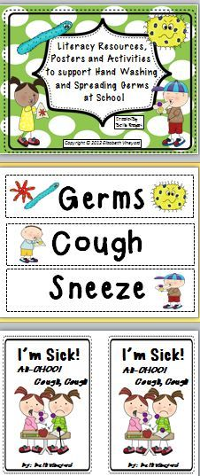 A hand washing and germ resource for primary.