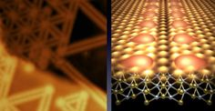 """Removing lines of atoms in thin electronic materials creates """"veins"""" that could benefit solar panels"""