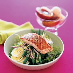 Salmon Salad With Vinaigrette  | Health.com