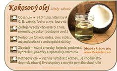 Info kokosový olej Barware, Place Card Holders, Health, Pharmacy, Health Care, Apothecary, Tumbler, Salud