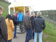 Weingut Rienth Fellbach Planwagen ride